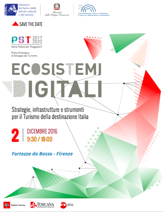 Ecosistemi Digitali, SAVE the DATE